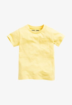 SHORT SLEEVE - Jednoduché triko - yellow