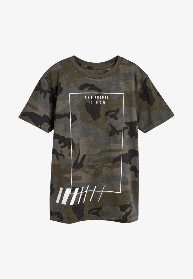 Next - Print T-shirt - green