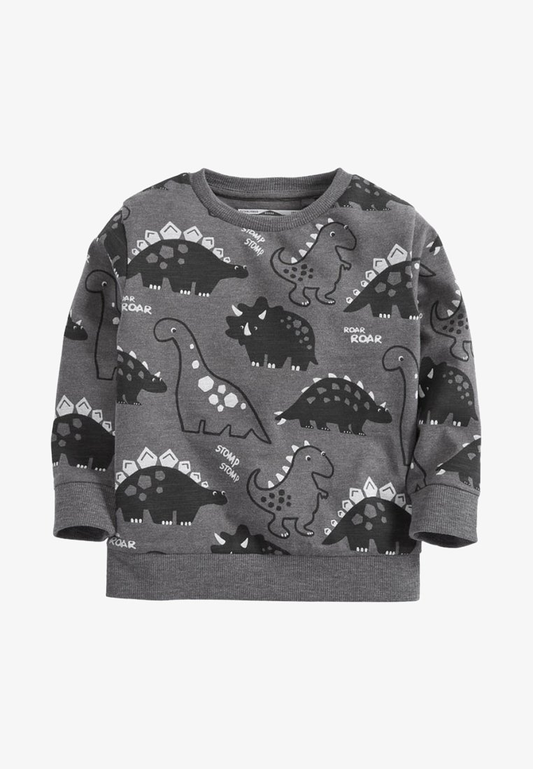 Next - BLACK SLOGAN - Sweatshirt - grey