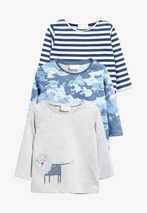 3PACK - Camiseta de manga larga - blue