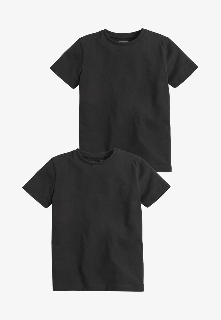 Next - 2 PACK - T-shirt basic - black