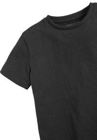Next - 2 PACK - T-shirt basic - black - 4