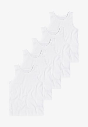 WHITE 5 PACK - Undershirt - white