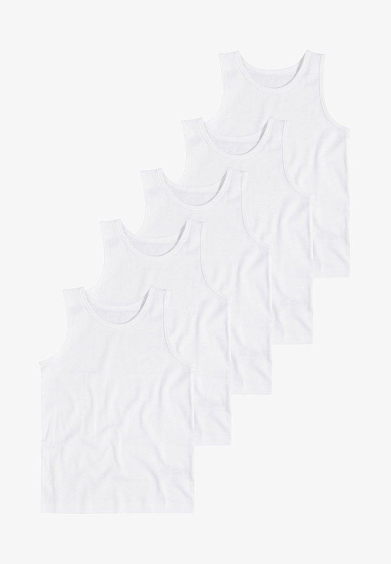 Next - WHITE 5 PACK - Undershirt - white