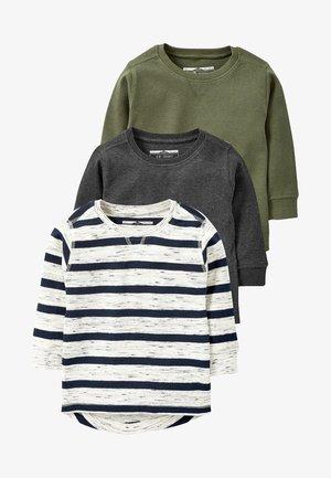 3 PACK - Longsleeve - grey