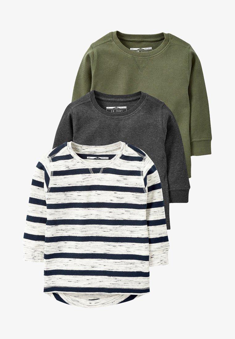 Next - 3 PACK - Pitkähihainen paita - grey
