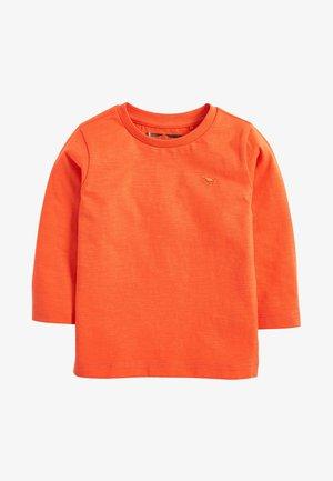 LONG SLEEVE PLAIN T-SHIRT (3MTHS-7YRS) - Longsleeve - orange