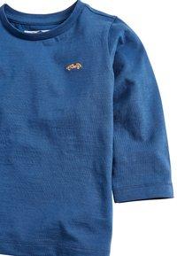 Next - LONG SLEEVE PLAIN T-SHIRT (3MTHS-7YRS) - Maglietta a manica lunga - blue - 2