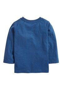 Next - LONG SLEEVE PLAIN T-SHIRT (3MTHS-7YRS) - Maglietta a manica lunga - blue - 1