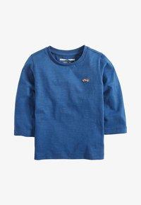 Next - LONG SLEEVE PLAIN T-SHIRT (3MTHS-7YRS) - Maglietta a manica lunga - blue - 0