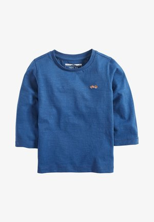 LONG SLEEVE PLAIN T-SHIRT (3MTHS-7YRS) - T-shirt à manches longues - blue