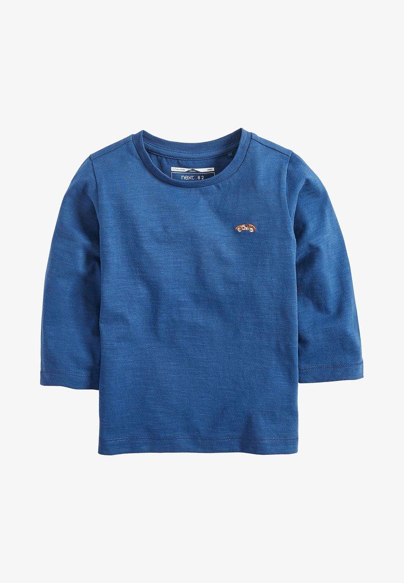Next - LONG SLEEVE PLAIN T-SHIRT (3MTHS-7YRS) - Maglietta a manica lunga - blue