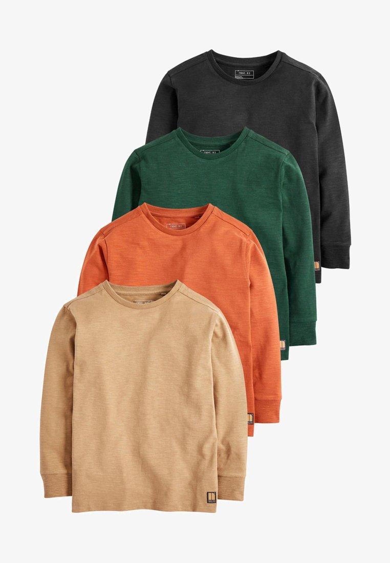 Next - 4 PACK - T-shirt à manches longues - green