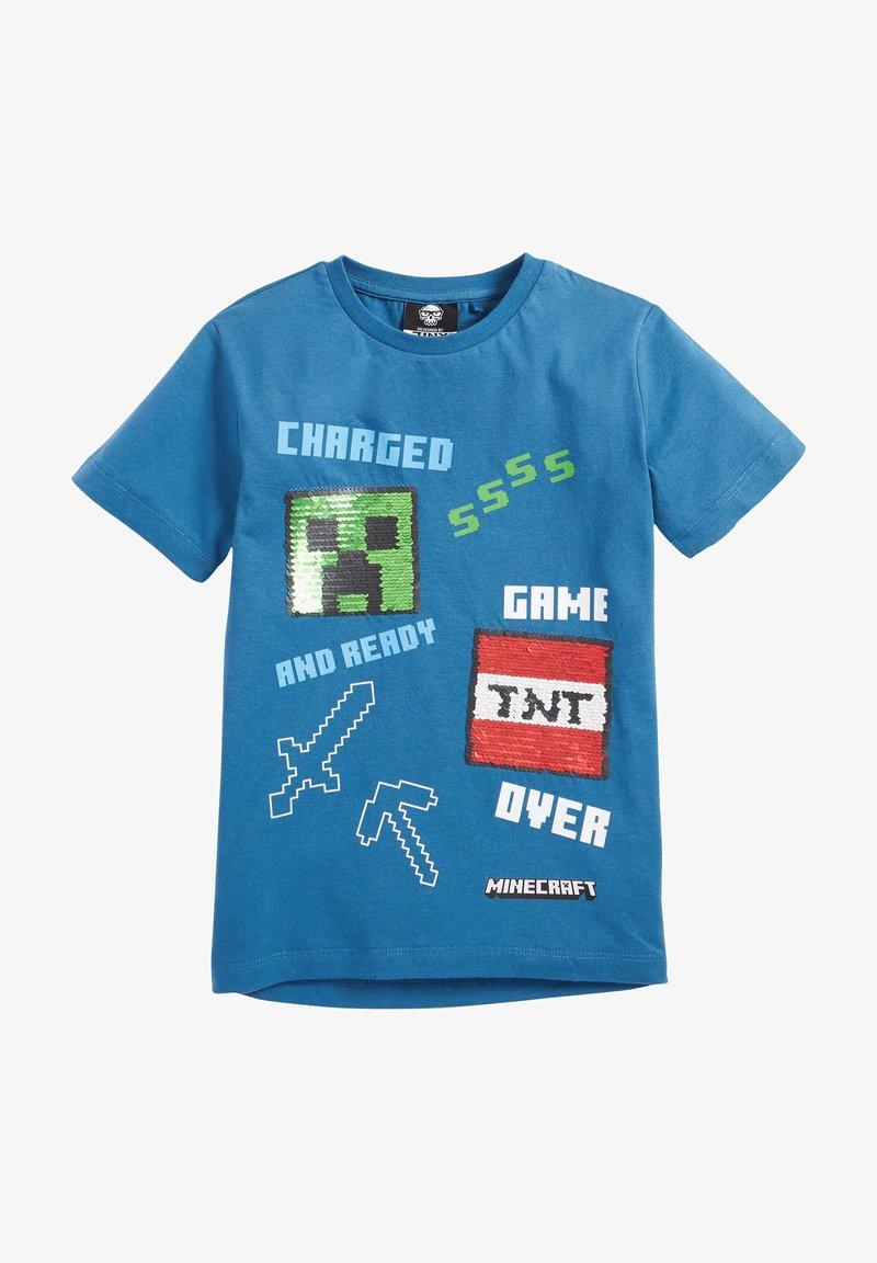 Next - MINECRAFT - T-Shirt print - blue