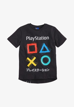BLACK PLAYSTATION - Print T-shirt - black