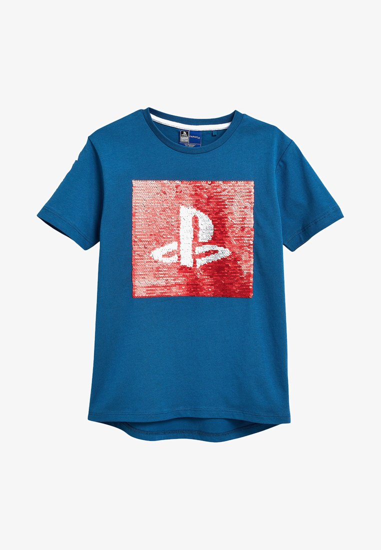 Next - PLAYSTATION - T-shirt con stampa - blue