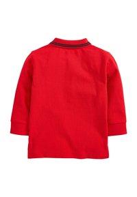 Next - BLUSH LONG SLEEVE PLAIN POLOSHIRT (3MTHS-7YRS) - Poloshirt - red - 1