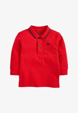BLUSH LONG SLEEVE PLAIN POLOSHIRT (3MTHS-7YRS) - Poloshirt - red