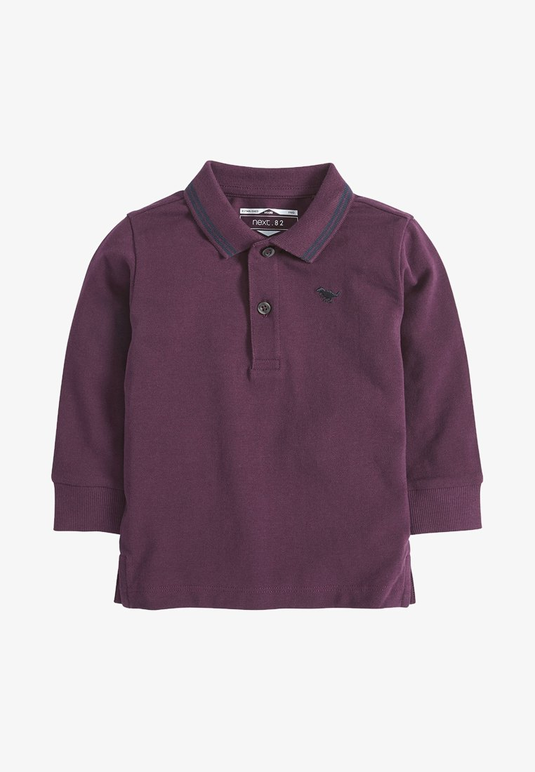 Next - BLUSH LONG SLEEVE PLAIN POLOSHIRT (3MTHS-7YRS) - Poloshirt - dark red