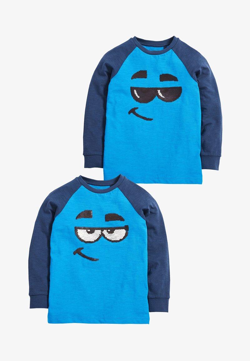 Next - 2 PACK - Långärmad tröja - blue