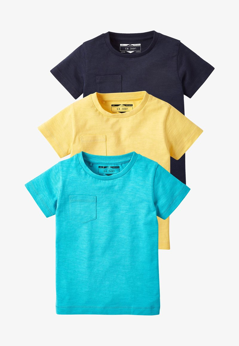 Next - 3PACK - T-paita - yellow