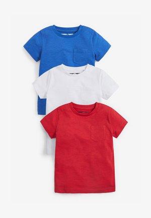 3PACK - Basic T-shirt - red