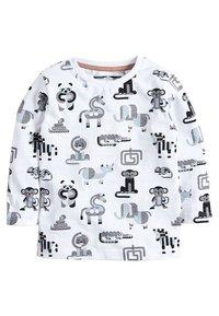 Next - 4 PACKS - T-shirt print - black - 1