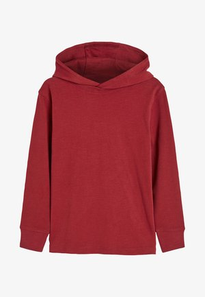 LONG SLEEVE - Sweat à capuche - red