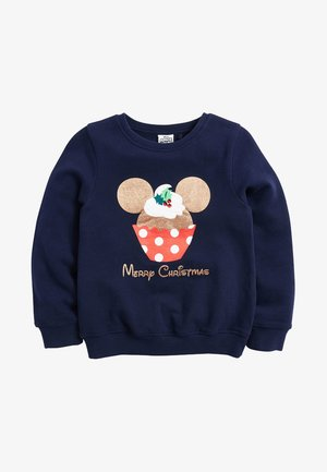 MINNIE MOUSEÂ  LICENSE CHRISTMAS - Sweater - blue