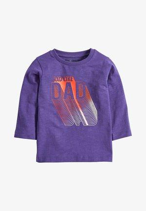 RAD LIKE DAD (3MTHS-7YRS) - T-shirt à manches longues - purple