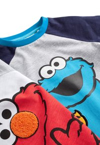 Next - COOKIE AND ELMO - Long sleeved top - grey - 4