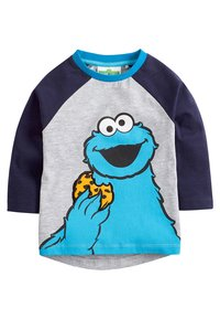 Next - COOKIE AND ELMO - Long sleeved top - grey - 3