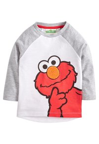 Next - COOKIE AND ELMO - Long sleeved top - grey - 1