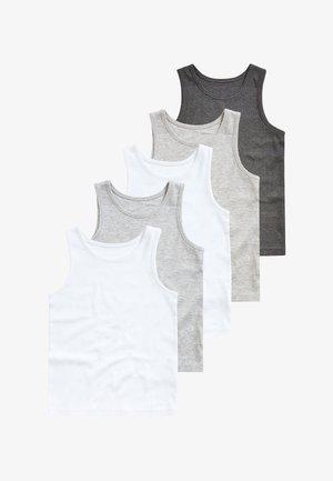 5 PACK - Débardeur - grey