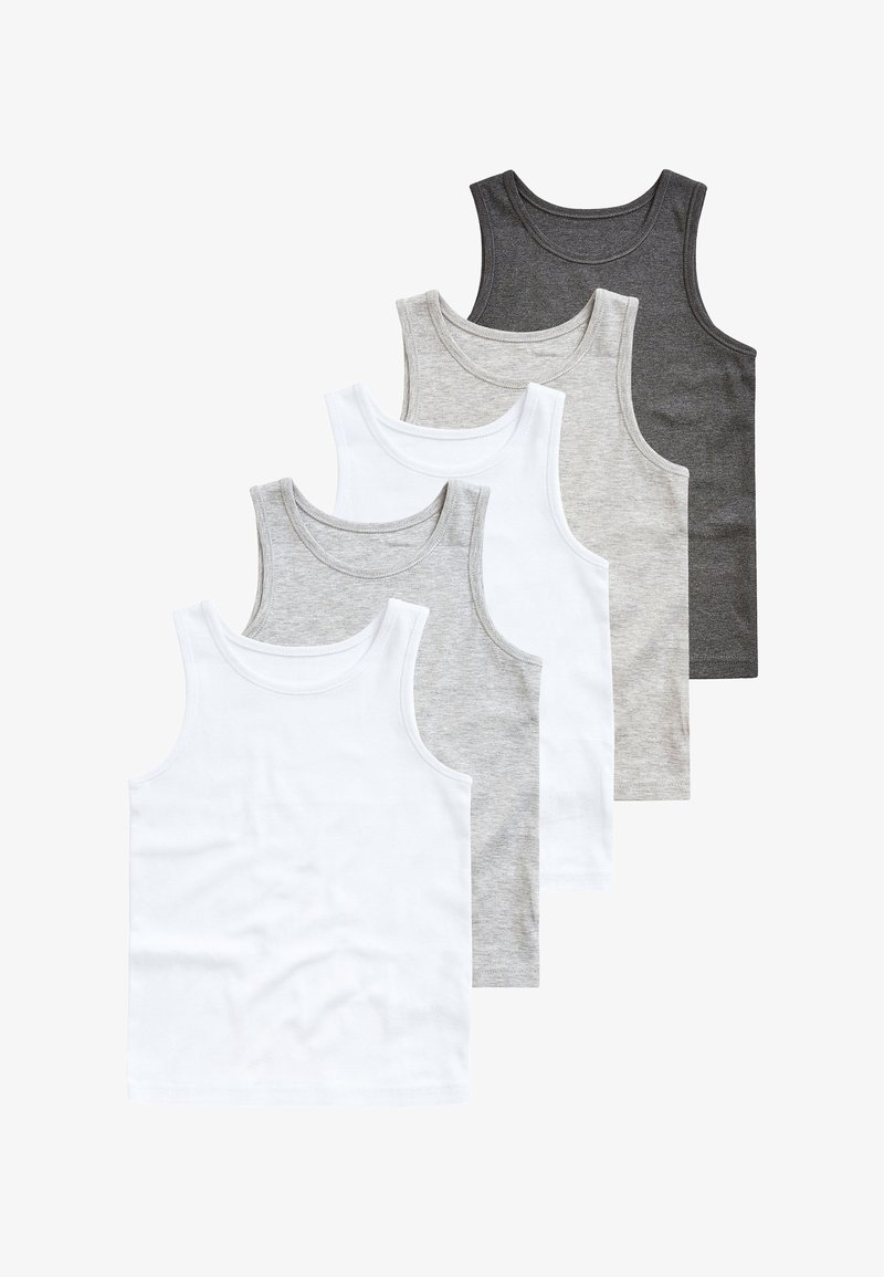Next - 5 PACK - Top - grey