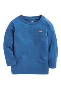 Next - BLUE/WHITE 3 PACK LONG SLEEVE PLAIN T-SHIRTS (3MTHS-7YRS) - T-shirt à manches longues - blue/black/white - 1