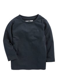 Next - BLUE/WHITE 3 PACK LONG SLEEVE PLAIN T-SHIRTS (3MTHS-7YRS) - T-shirt à manches longues - blue/black/white - 3
