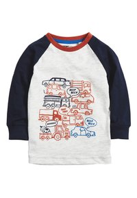 Next - RUST 4 PACK LONG SLEEVE CARS T-SHIRTS (3MTHS-7YRS) - Camiseta estampada - blue - 5