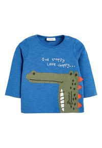 Next - BRIGHT 3 PACK CHARACTER T-SHIRTS (0MTHS-3YRS) - Long sleeved top - blue - 4