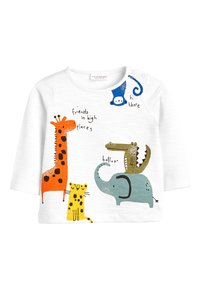 Next - BRIGHT 3 PACK CHARACTER T-SHIRTS (0MTHS-3YRS) - Long sleeved top - blue - 3