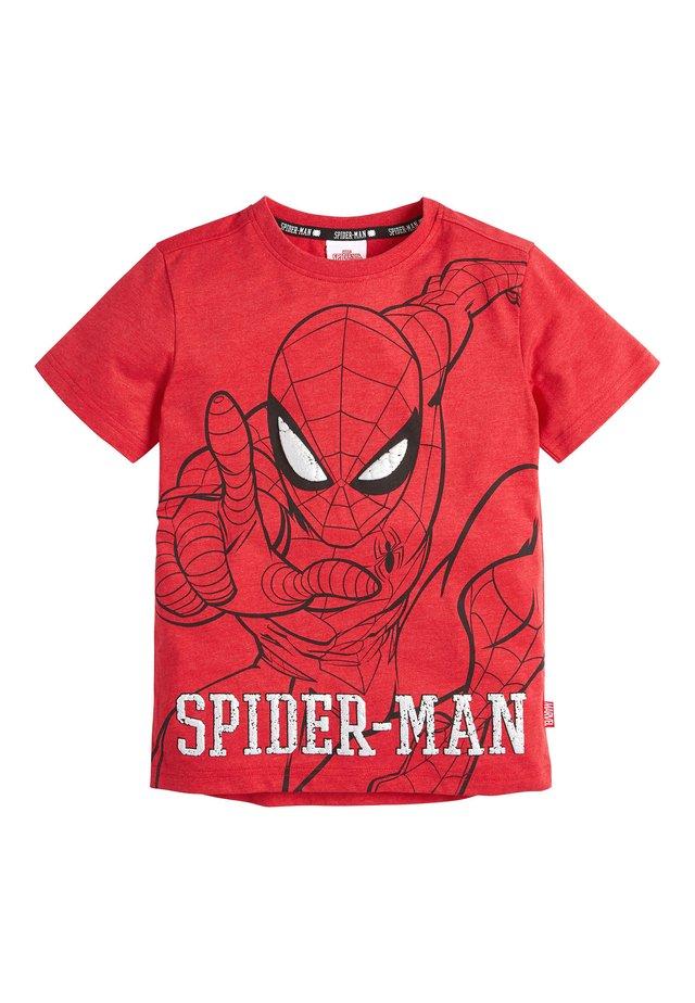 "RED SPIDER-MANÂ""¢ T-SHIRT (3-14YRS) - Camiseta estampada - red"