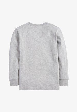 GREY MARL LONG SLEEVE GORILLA T-SHIRT (3-16YRS) - Longsleeve - grey