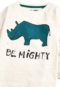 Next - ECRU LONG SLEEVE BE MIGHTY T-SHIRT (3MTHS-7YRS) - Long sleeved top - off-white - 2