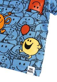 Next - BLUE MR MEN ALL OVER PRINT T-SHIRT (3MTHS-8YRS) - T-shirt z nadrukiem - blue - 2