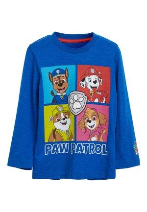 BLUE LONG SLEEVE PAW PATROL T-SHIRT (9MTHS-8YRS) - Bluzka z długim rękawem - blue