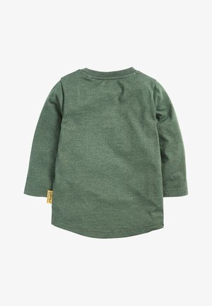 KHAKI LONG SLEEVE GRUFFALO T-SHIRT (3MTHS-8YRS) - Long sleeved top - green