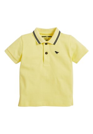 TURQUOISE SHORT SLEEVE POLO (3MTHS-7YRS) - Poloshirt - yellow