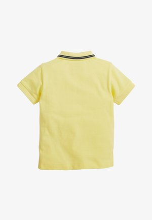 TURQUOISE SHORT SLEEVE POLO (3MTHS-7YRS) - Pikeepaita - yellow