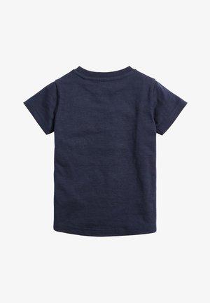 NAVY MICKEY MOUSE RAINBOW T-SHIRT (3MTHS-8YRS) - Printtipaita - blue