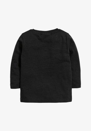 BLACK BATMAN RAINBOW LONG SLEEVE T-SHIRT (3MTHS-8YRS) - Pitkähihainen paita - black